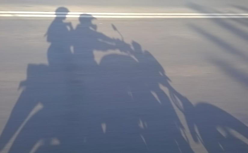 Examen moto in trafic