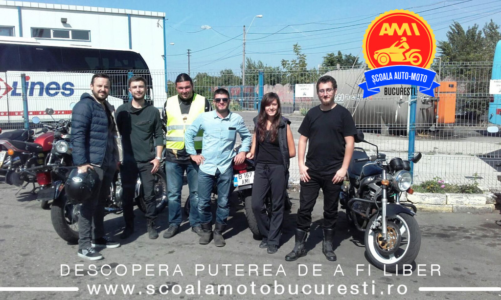 examen moto categoria a- scoala de soferi auto moto ami