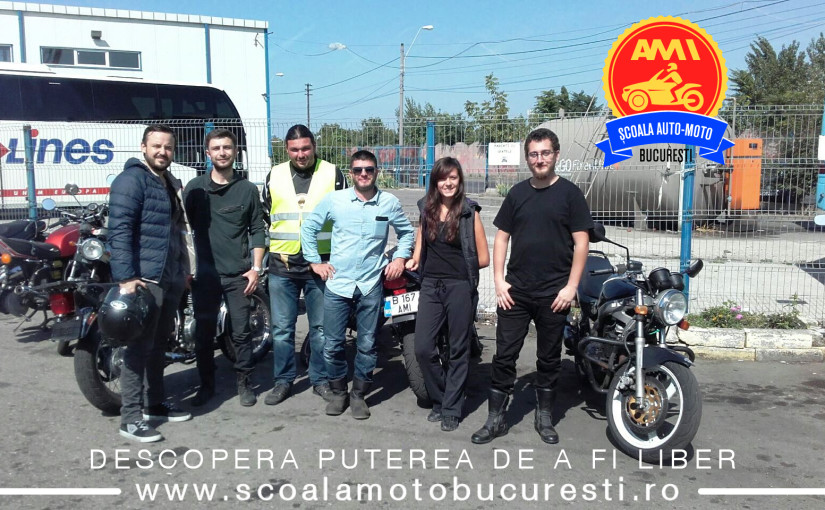 Examen moto categoria A, A2, A1