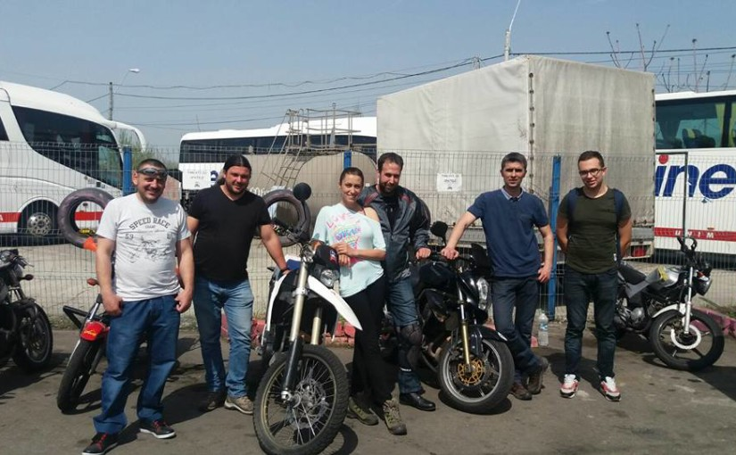 Primii elevi cu permis moto din 2016