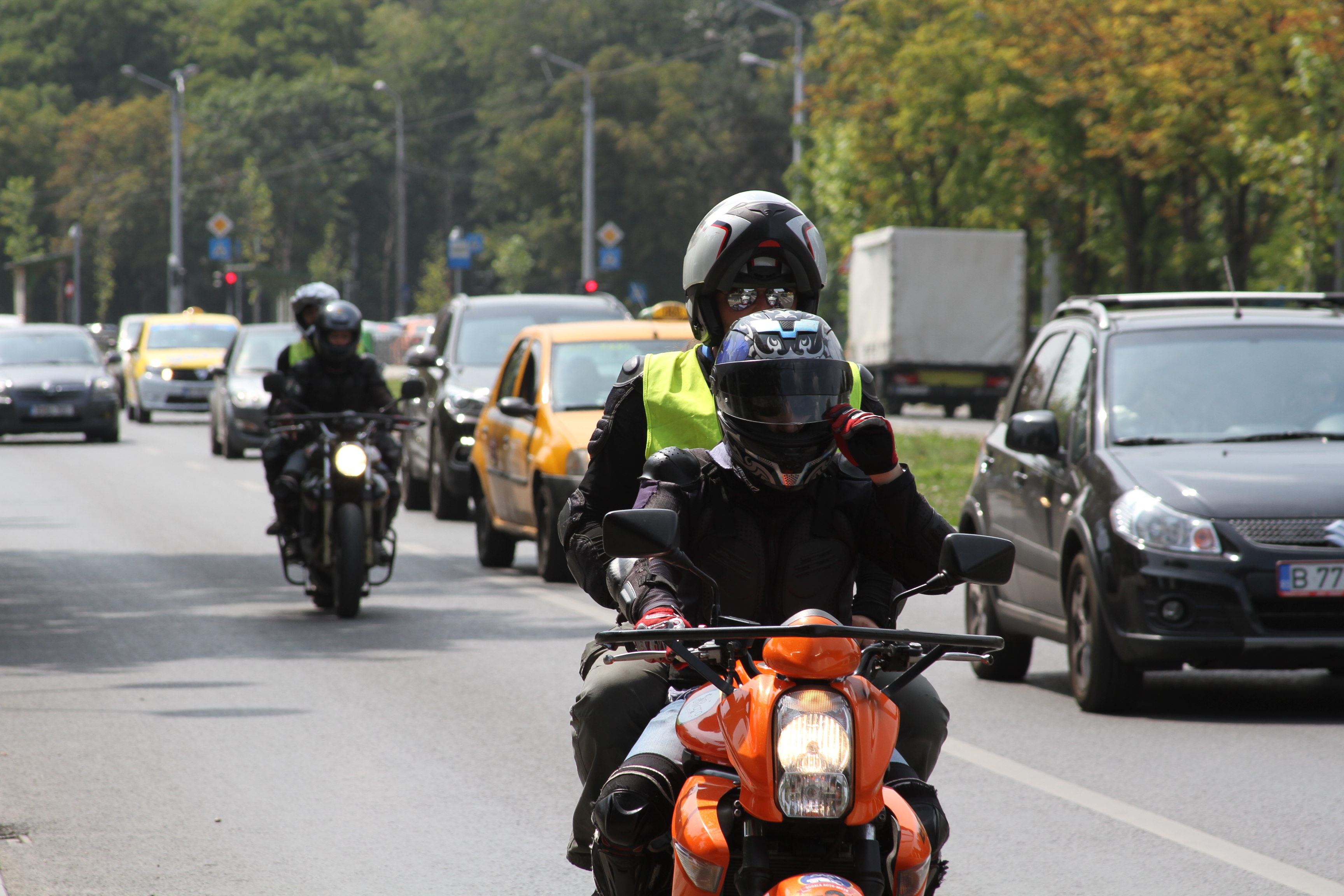 scoala moto ami examen moto cu pasager