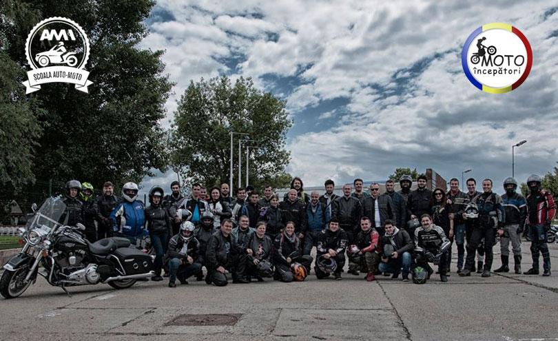 Plimbare alături de Moto Începători până la Dunăre, la început de vară