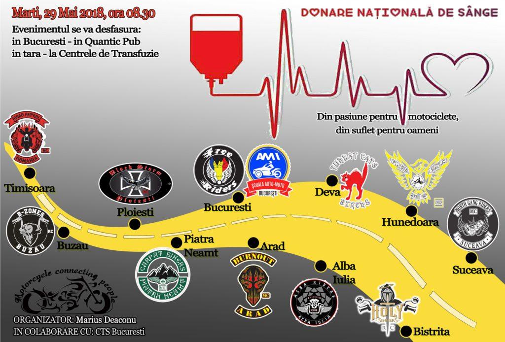 Donare Nationala de Sange scoala ami