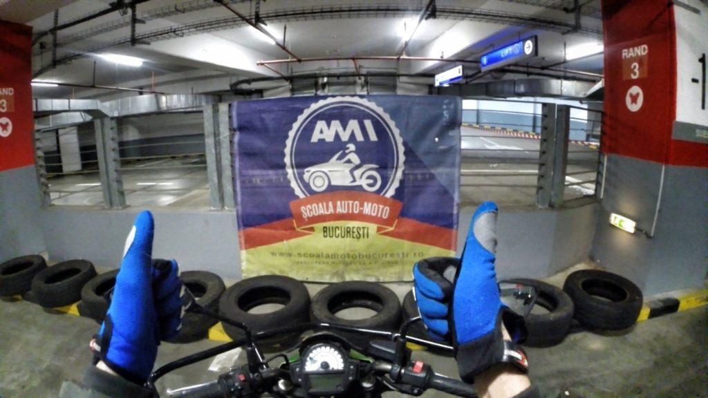 Scoala moto bucuresti AMI -Scoala Moto Iarna Afi Cotroceni