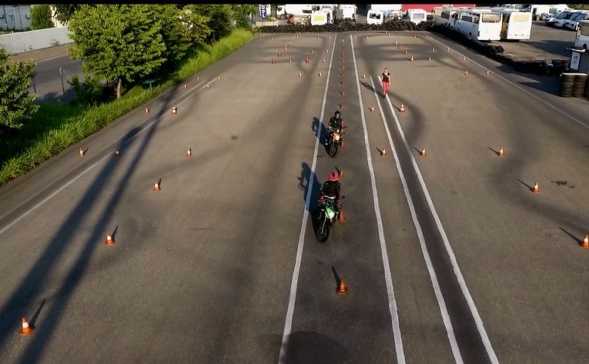Examen moto in poligon 2021
